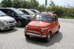 Fiat 500 Gabriella paraplegici livorno
