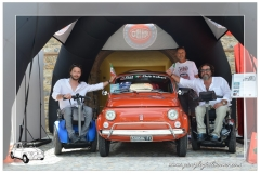 Paraplegici Livorno raduno Garlenda conegna fiat 500_00030